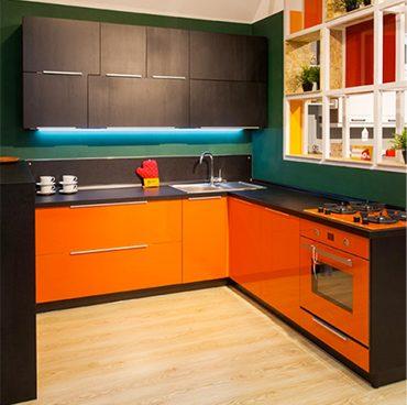Категория «П-образные кухни»