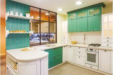 Белая кухня Адель