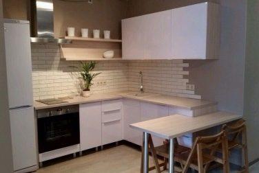 Белая кухня Симпл