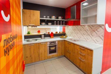 Кухня Лофт в сером